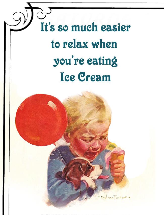 eatingicecream