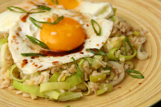 ginger fried rice 8