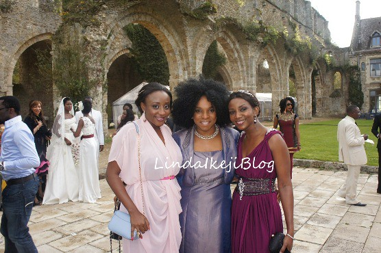 Also at the Parisian castle venue of the princess themed 2nd wedding of the