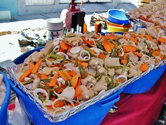 Pig's Feet Ceviche at Chapala Tianguis