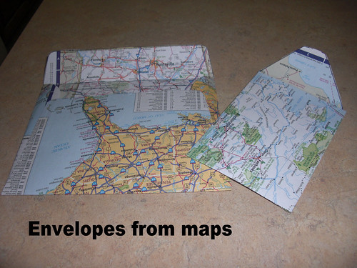 Envelops from maps