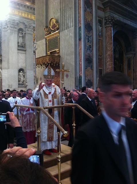 Papal Mass - St Peter's Basilica