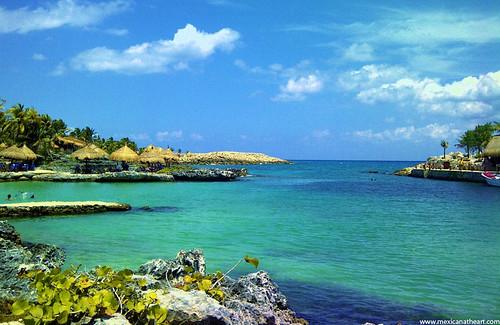 Mexican Xelha beach