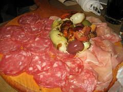 Aria Wine Bar - Sopressata and Prosciutto Di San D…