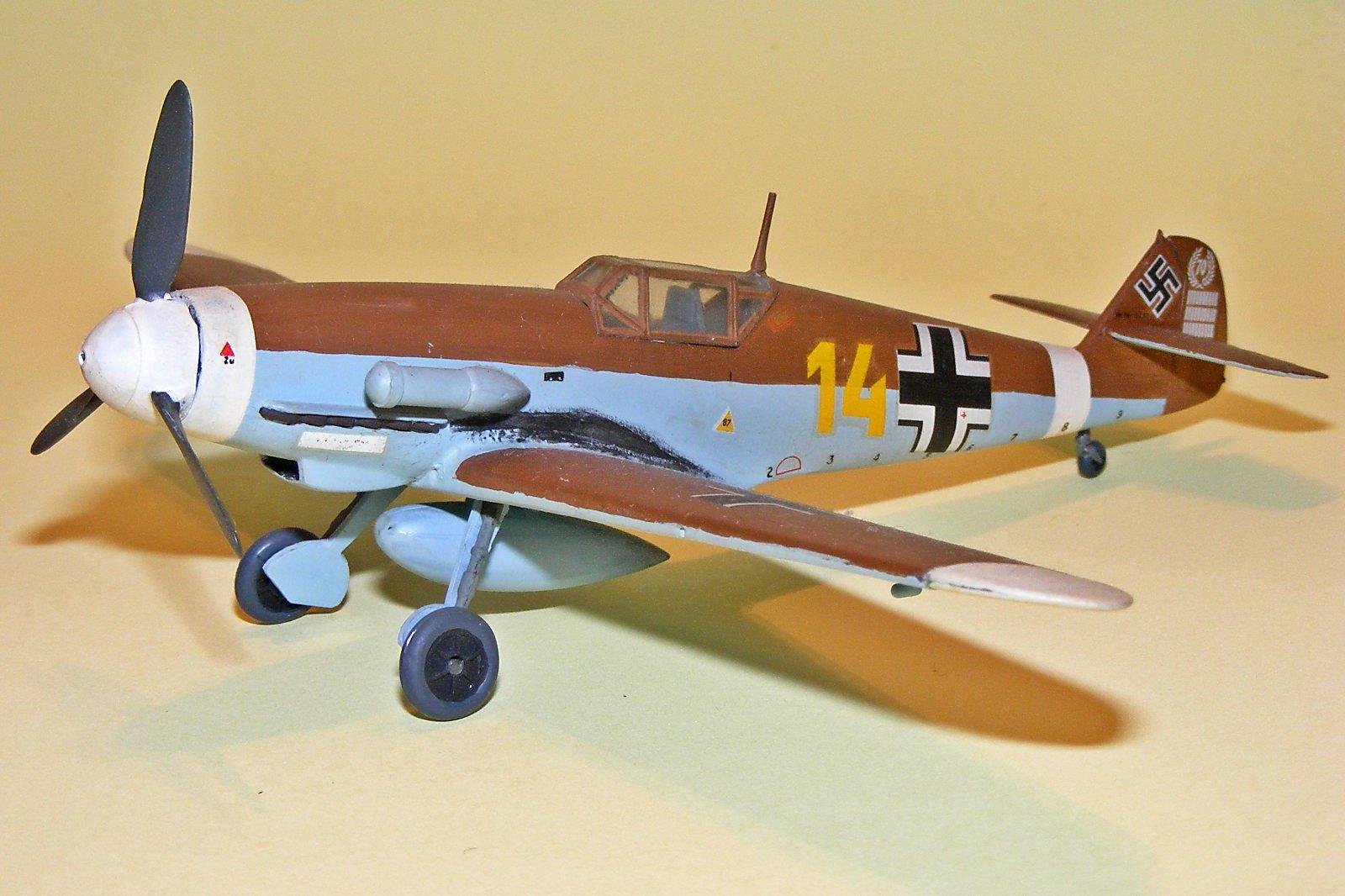 Bf 109F4 de HJ Marseille (FROG)