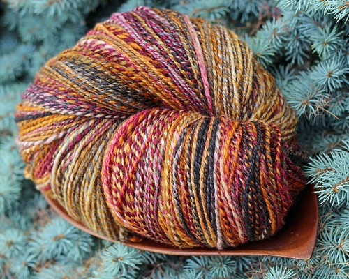 Four Rivers - Merino Silk - Bacchus - plies