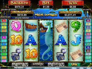 Loch Ness Loot Bonus Game