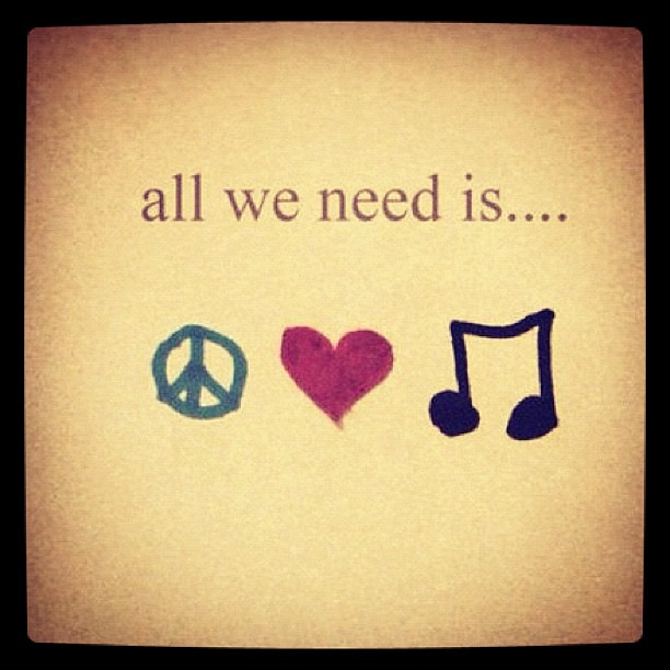 all we need is