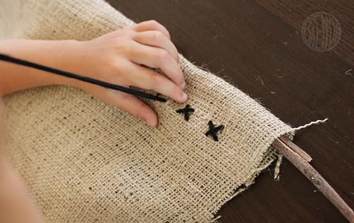 stitching x's