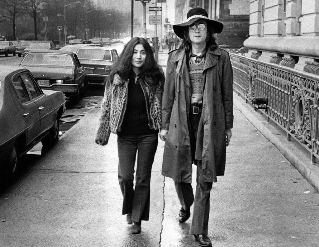John Lennon Yoko NYC 1973