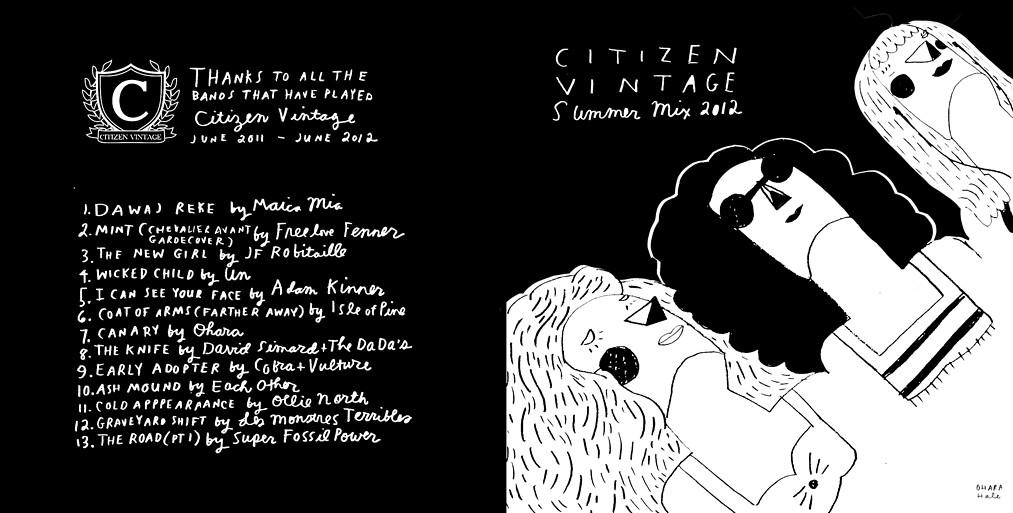 CITIZEN VINTAGE print