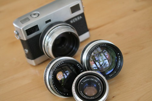 Werra with lenses