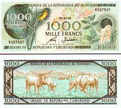Burundi-money