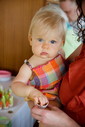 Susanna Jane's 1st birthday party, 6-30-12