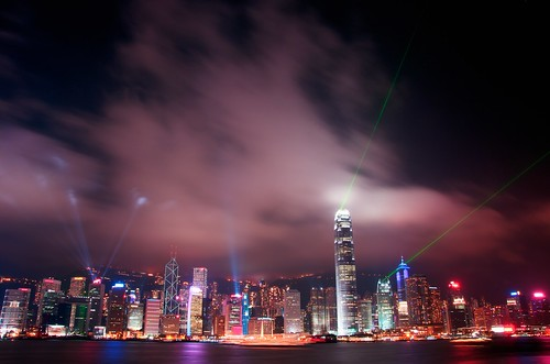Hong Kong Laser Lights