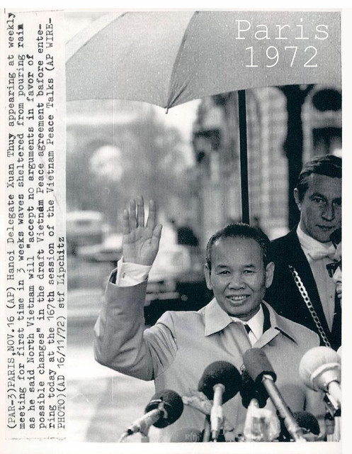1972 Delegate Xuan Thuy Vietnam Peace Talks.