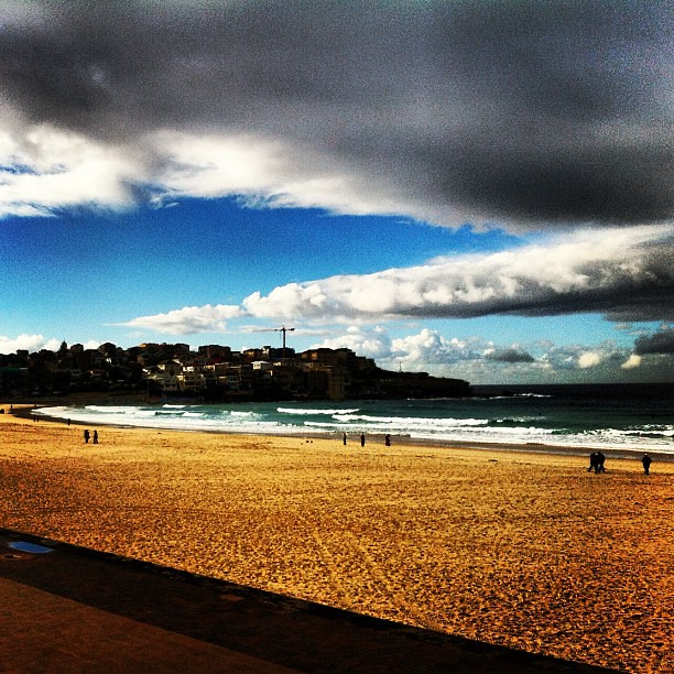 Winter Saturday in Bondi #bondibeach #bondi #australia #seeaustralia
