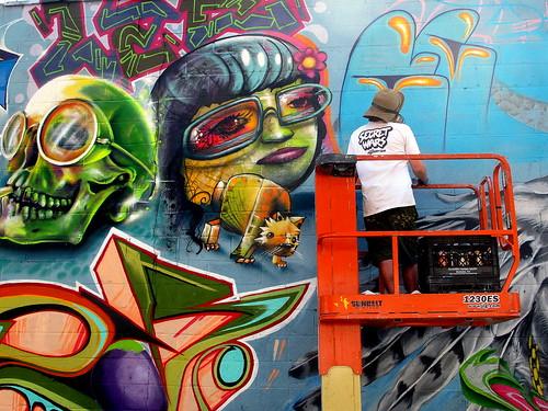 Cern @ work in Williamsburg