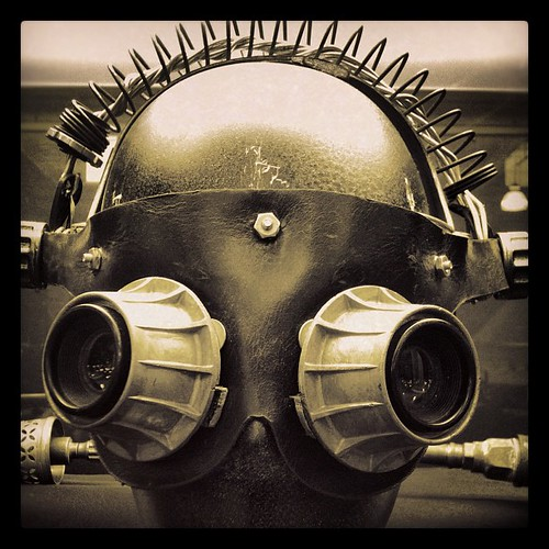 Mask #steampunk