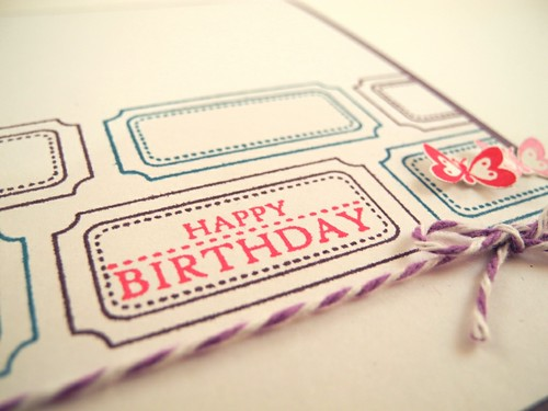 Ticket Birthday detail