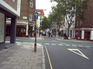 View of whitfield St from Tottenham Street
