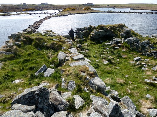 Dun An Sticir, Crannog, North Uist, Scotland