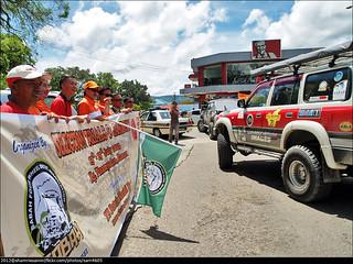 SFWDA Jamboree Convoy to Kampung Pinampadan