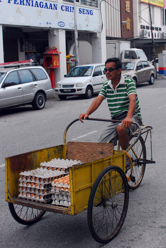 Egg Bike, Penang