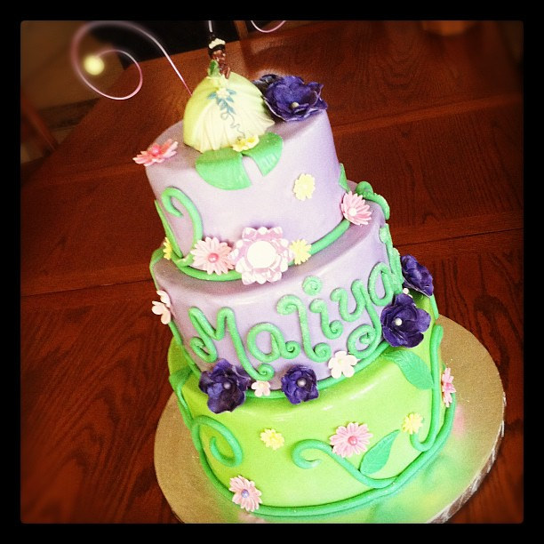 Princess Tiana Cake Pictures : Princess Tiana cake for a birthday princess Flickr ...