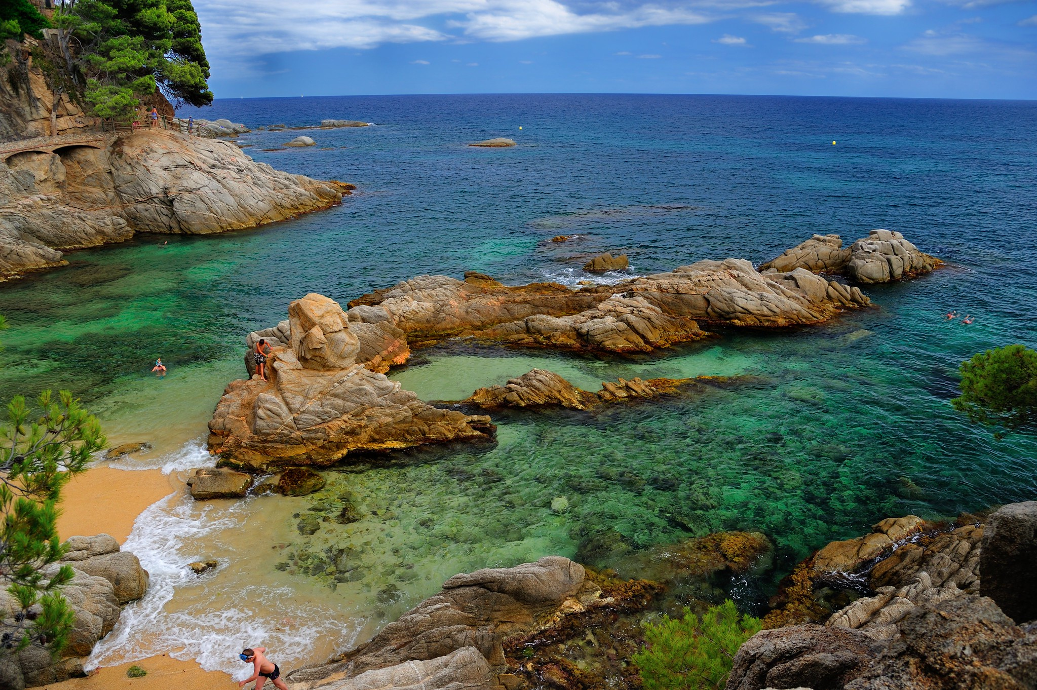 Platja d 39 aro costa brava flickr photo sharing - Cases platja d aro ...