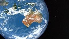 [フリー画像素材] 自然風景, 宇宙, 惑星, 地球 ID:201208032000