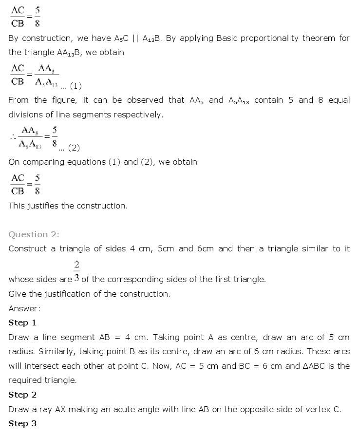 02b6b5fc7 NCERT Solutions for Class 10 Maths Chapter 11 – Constructions ...