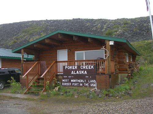 (Old) Poker Creek Customs Station