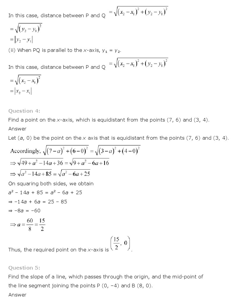 NCERT Solutions for Class 9th: Ch 7 Triangles Maths
