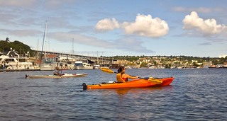 Kayaking on Lake Union