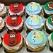 Christmas Cupcakes by SiftbyKara