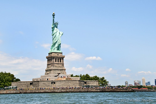 Statue of Liberty  by Alida's Photos