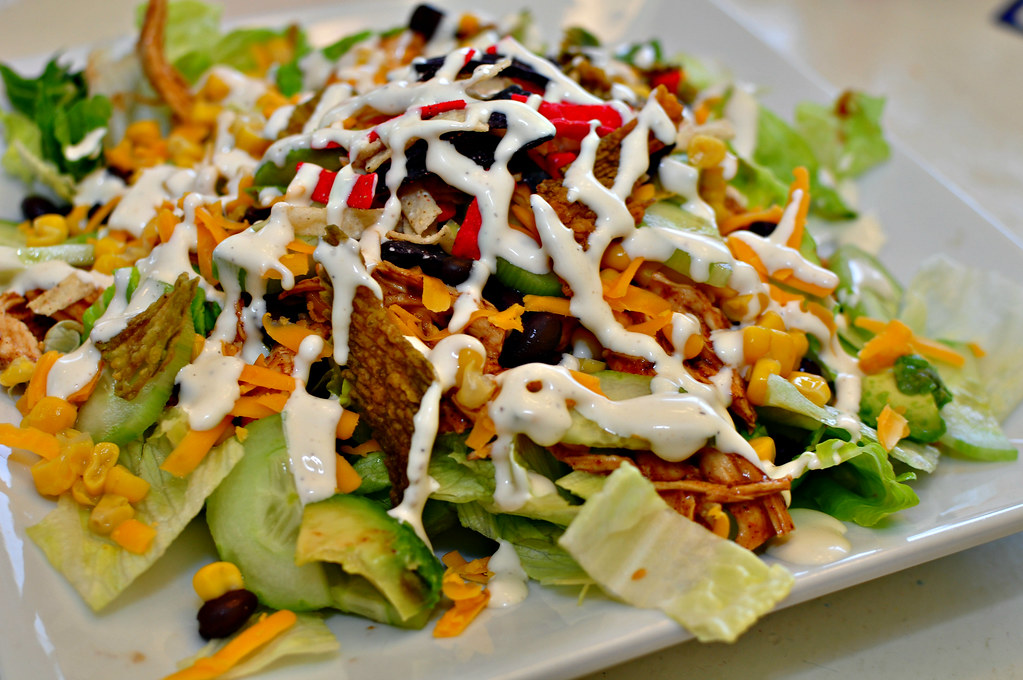 Chicken Enchilada Salad