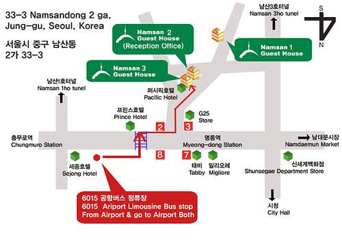 Namsan Location