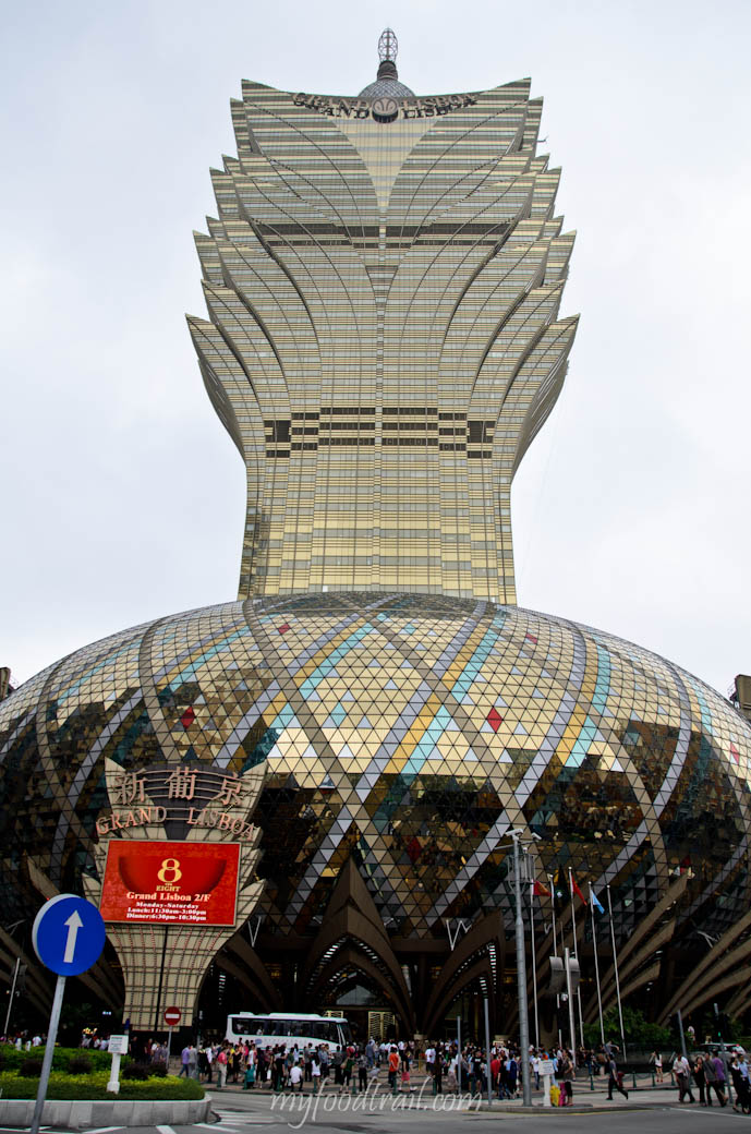 Joel Robuchon au Dome, Macau - Outside Grand Lisboa