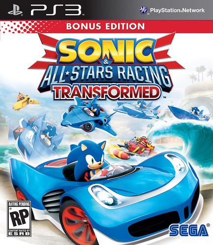 Sonic & All-Stars Racing Transformed Bonus Edition Pack Front