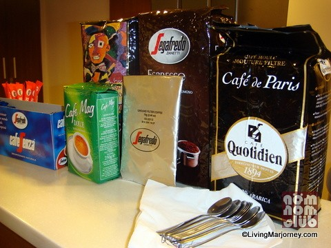 Segafredo Cafe is located at the ground floor of Net One Plaza