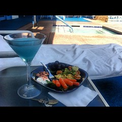 Martinis by the pool. Palm Springs=perfection