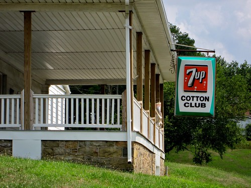 Cotton Club 7-Up Sign
