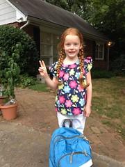 First day of second grade! by PrincessKaryn