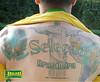 Tatuagem - Bandeira do Brasil