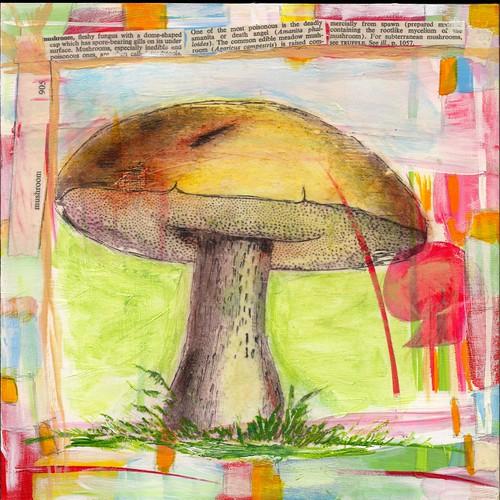 Mushroom (Heidi Moos: week 4--New) by 4heidi