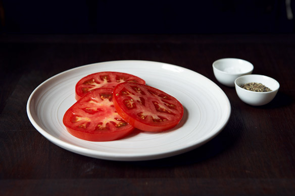 Brown Butter Tomatoes, Sliced Tomatoes
