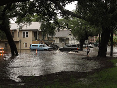 natural disaster, flood, residential area, disaster, neighbourhood,