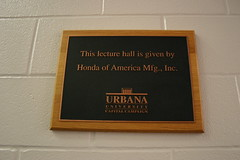 2012 UU Honda Lecture Hall Rededication